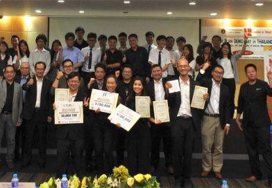 """อาจารย์/นักวิจัย จากมหาวิทยาลัยเกษตรศาสตร์ได้รางวัลจากการเข้าร่วมกิจกรรม """"2ND TECH PLAN DEMO DAY IN THAILAND 2017"""""""